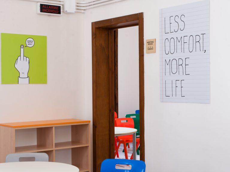 Lobby Collective Hostel - Academy sala riunioni