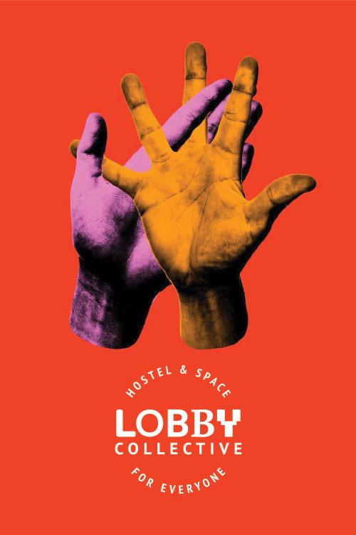 Lobby Collective Hostel - Biglietto da visita